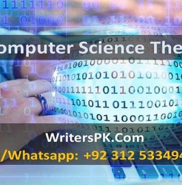 Computing dissertation